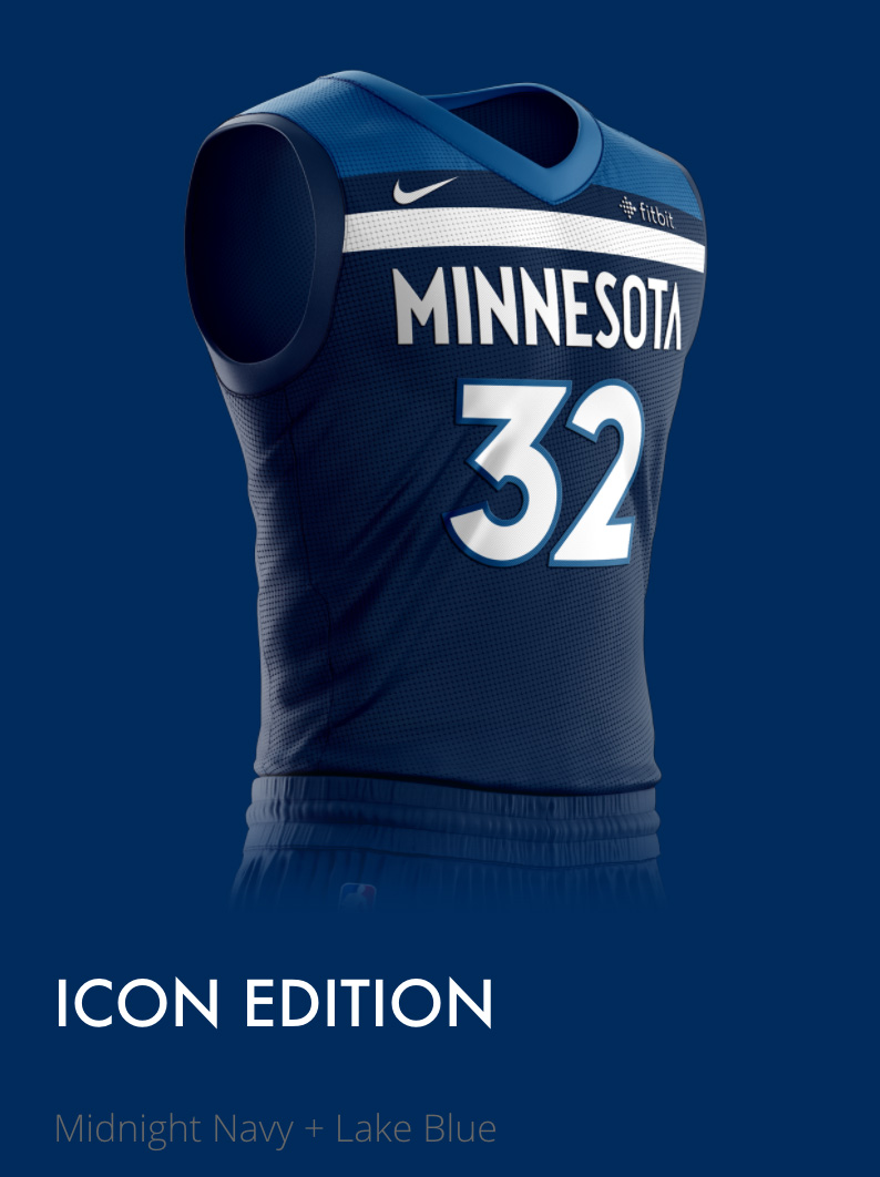 MN Timberwolves New Threads Project: Mobile View, Icon Edition Description Section