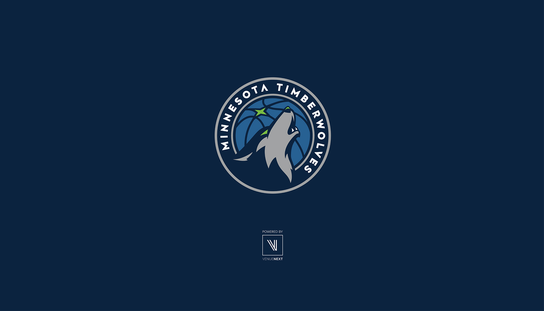 Timberwolves Mobile App, Loading Animation, Desktop View