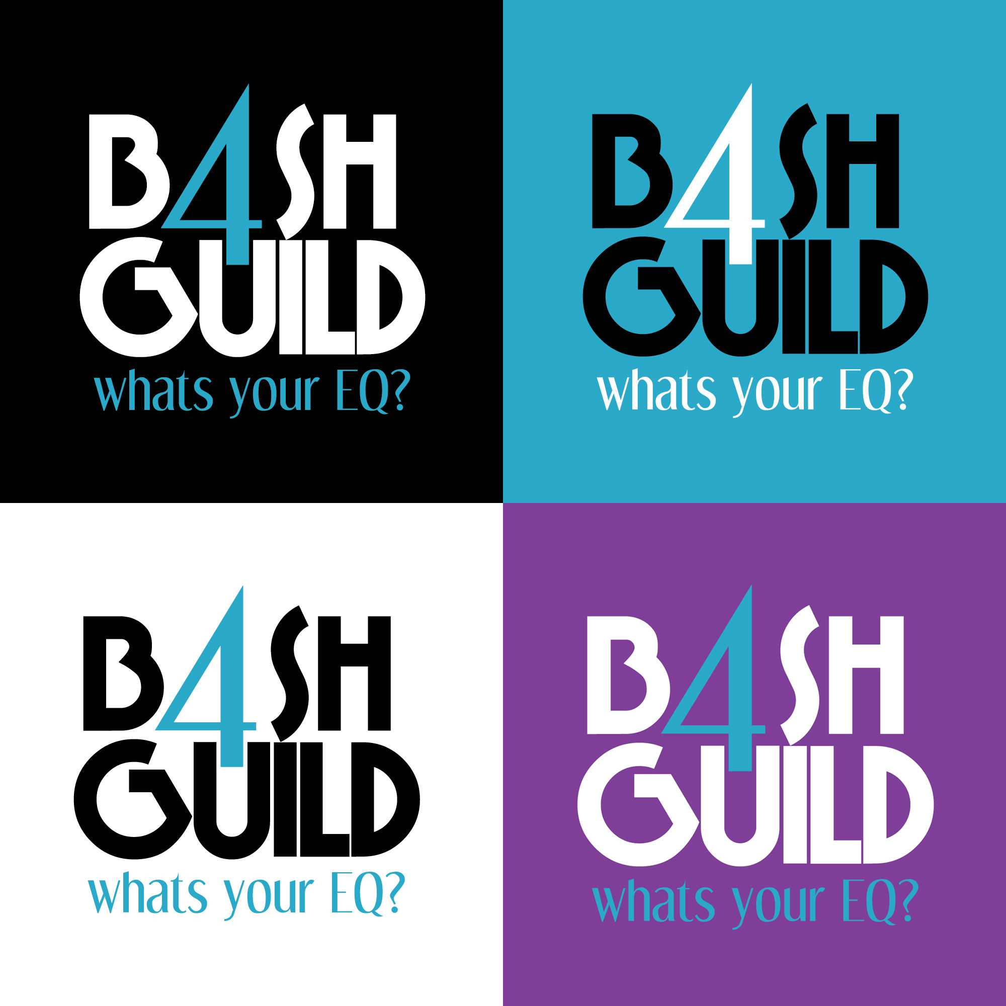Bash4Guild Event Logo, Vertical