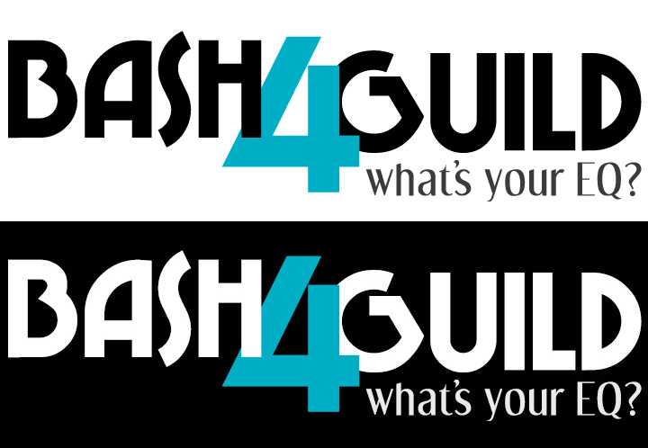 Bash4Guild Event Logo, Horizontal
