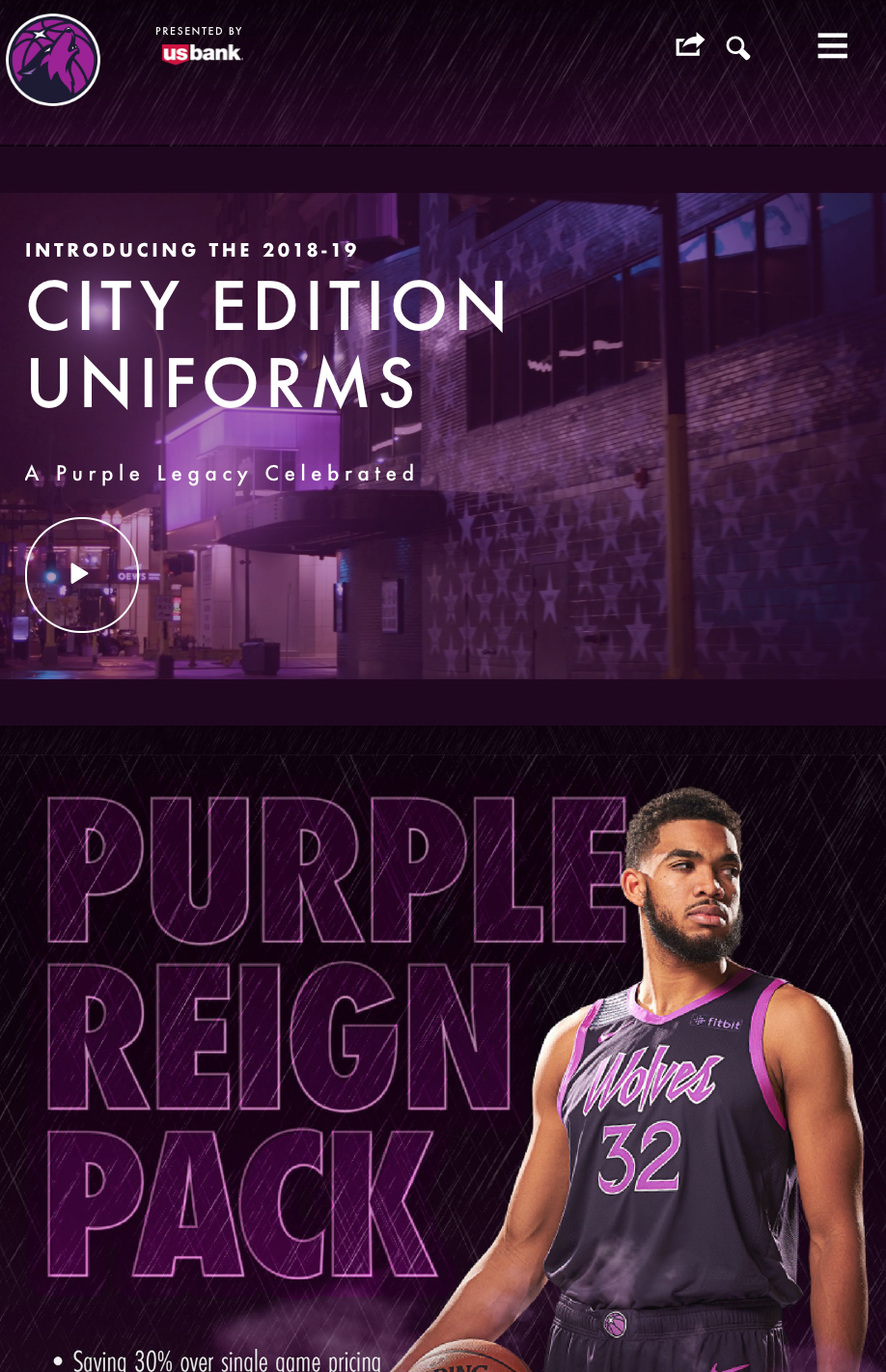 Prince-Inspired Uniform Page - Mobile View